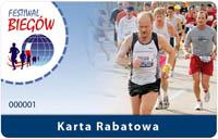 Karta Rabatowa Festiwalu Biegowego