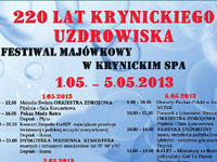 Festiwal Majówkowy w Krynickim SPA