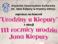 Spektakl Urodziny u Kiepury