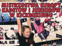 Mistrzostwa Europy Kadetów i Juniorów w Kickboxingu w Krynicy-Zdrój