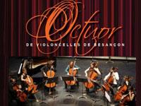 Koncert Octuor de Violoncelles w Krynicy