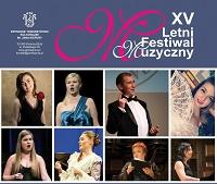 XV Letni Festiwal Muzyczny - plakat