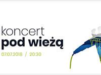 Koncert pod Wieżą w Krynicy-Zdroju