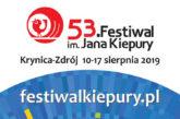53 Festiwal im. Jana Kiepury w Krynicy