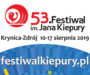 53 Festiwal im. Jana Kiepury w Krynicy